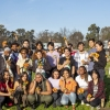 Stanfors students at Free the Land event.